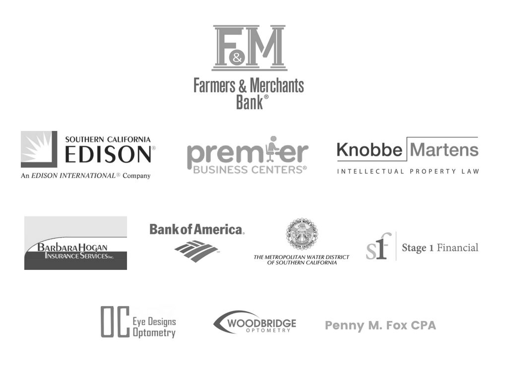 6.2018 Corporate Partner logo slide grayscale