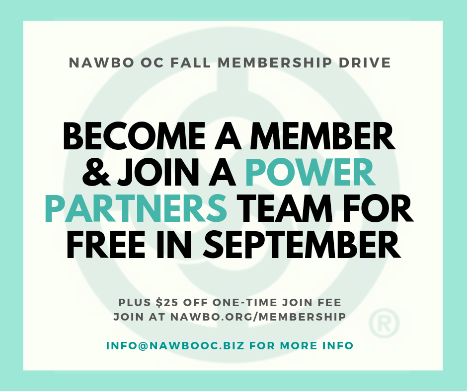 Fall Membership Drive_Power Partners